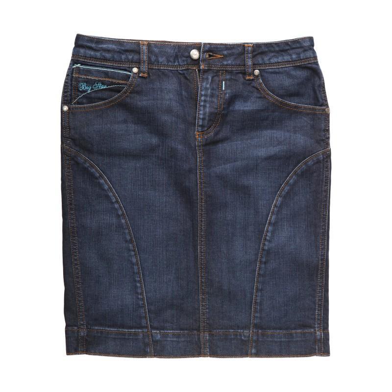 granatowa spódnica Big Star dżinsowa - z kolekcji wiosna-lato 2011