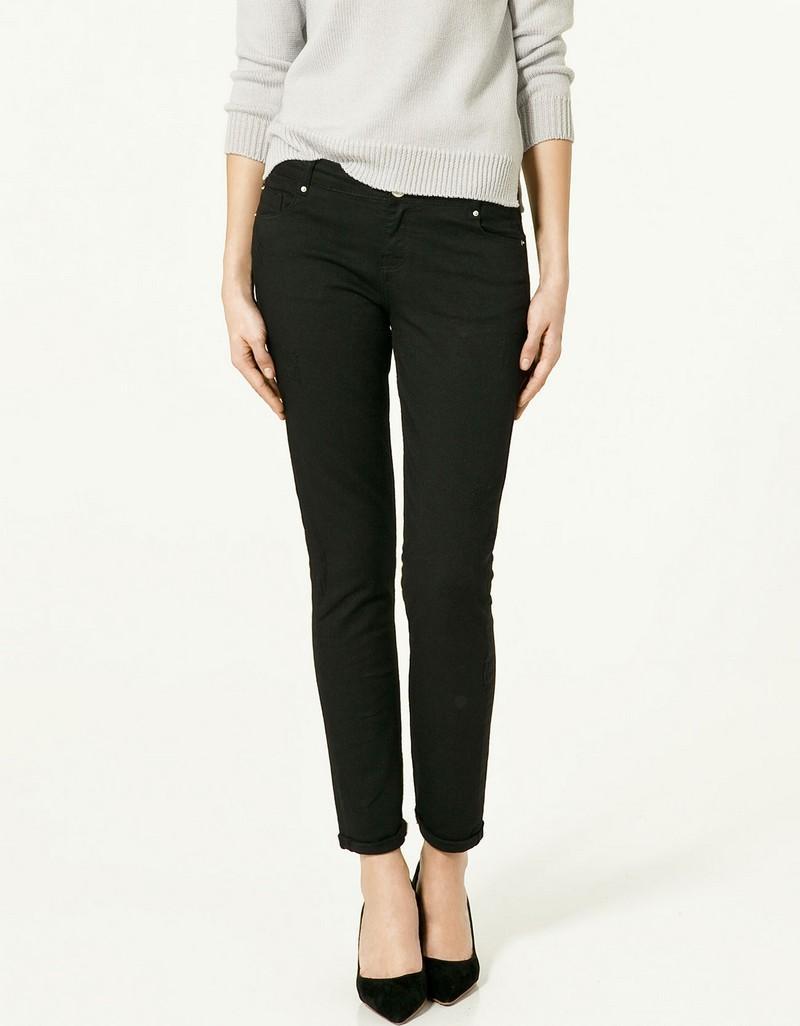 czarne dżinsy ZARA - wiosenna kolekcja