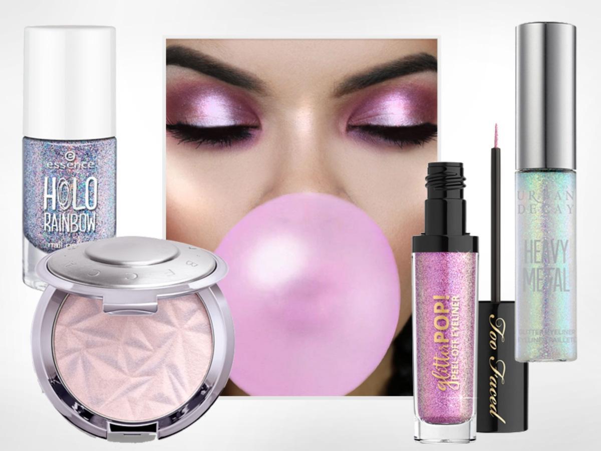 Efekt Jednorożca W Makijażu Kosmetyki Unicorn Perfumy I