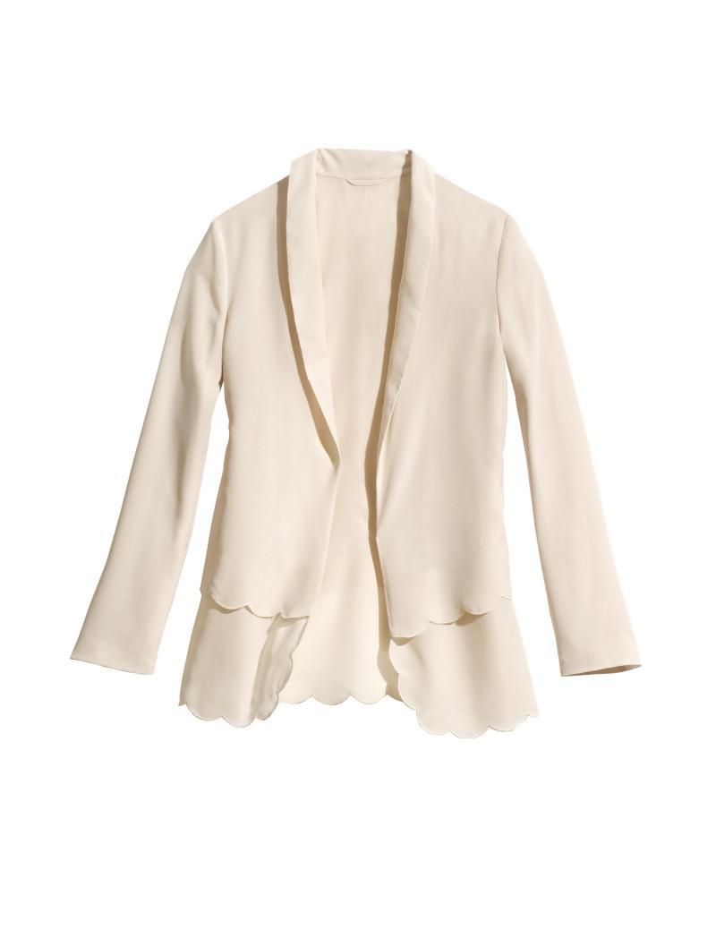 biała marynarka H&M - wiosenna kolekcja