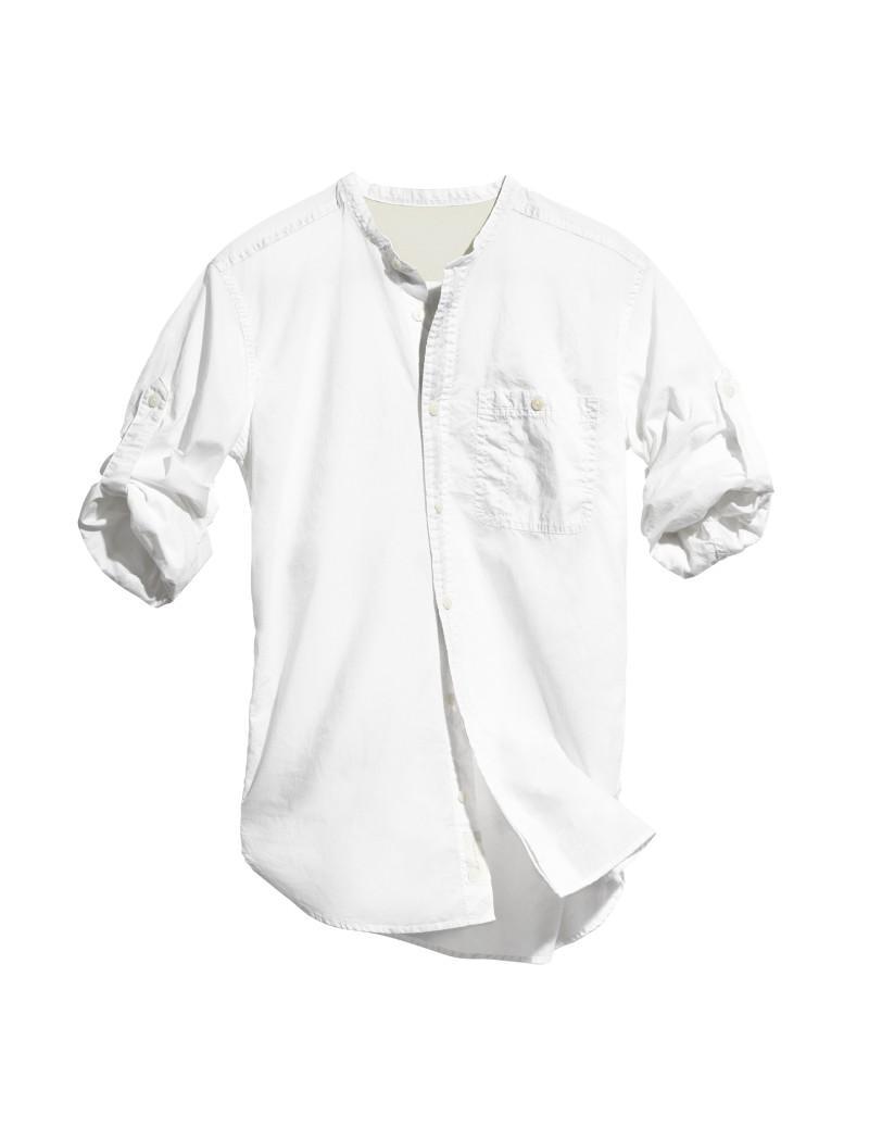 biała koszula H&M - letnia kolekcja