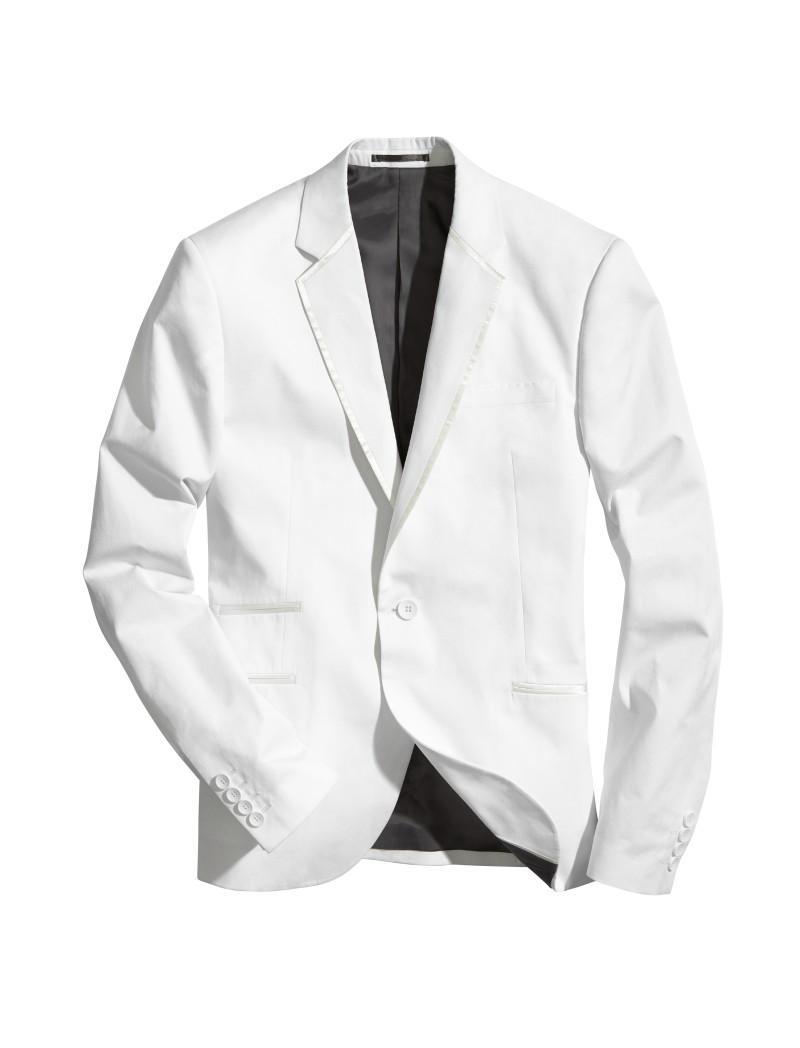 biała marynarka H&M - wiosna 2011
