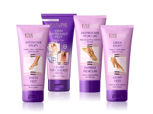 Kosmetyki pielęgnujące do stóp – Eveline Cosmetics