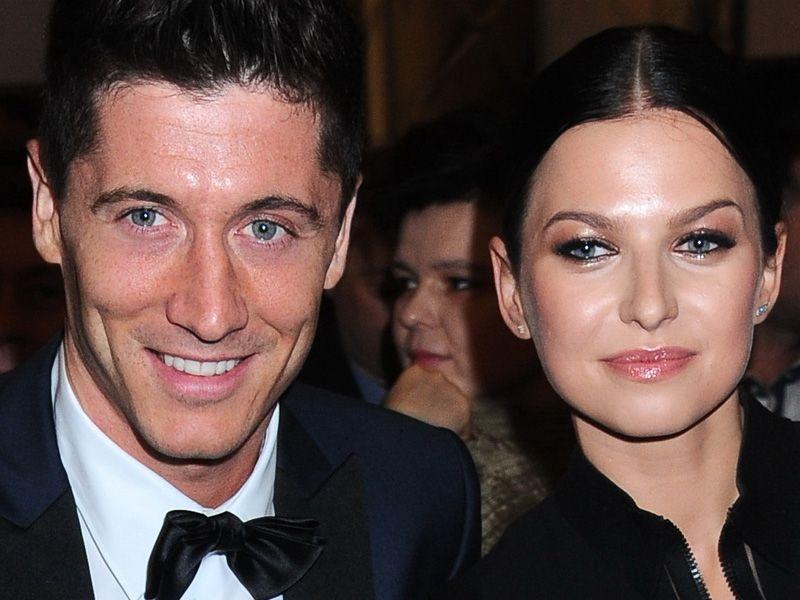 Anna i Robert Lewandowscy na gali Superbrands