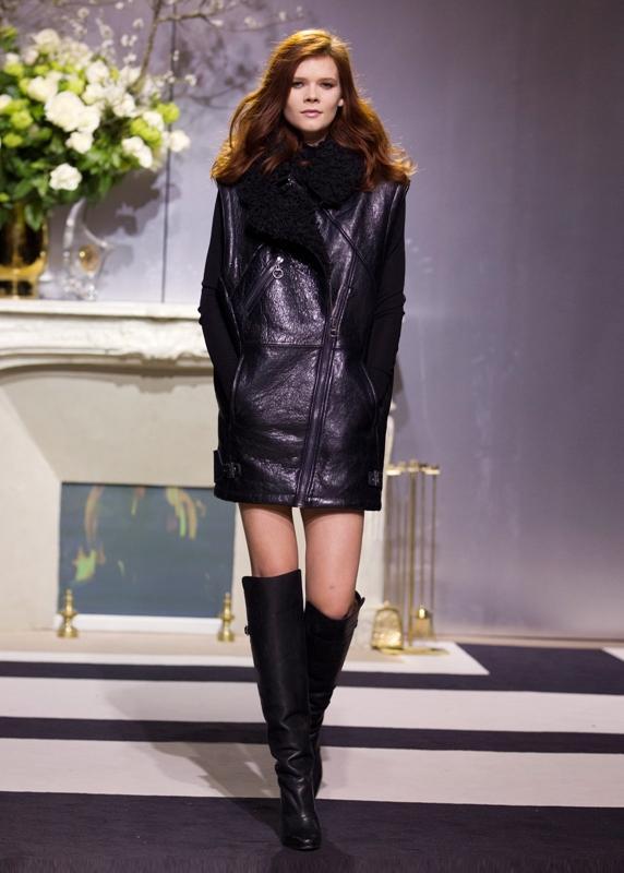 Elegancka chłopczyca - pokaz kolekcji H&M na jesień 2013
