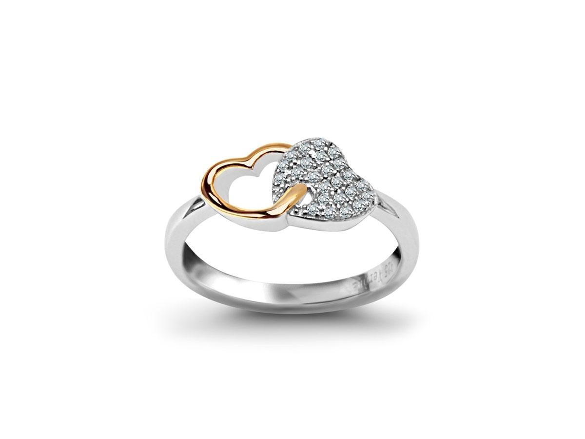 Srebrny pierścionek, Verona, cena ok. 79,00 zł