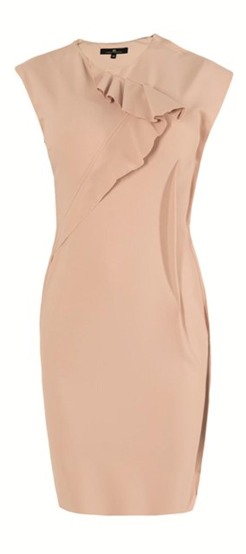 ecru sukienka Elisabetta Franchi Celyn b - wiosna/lato 2011
