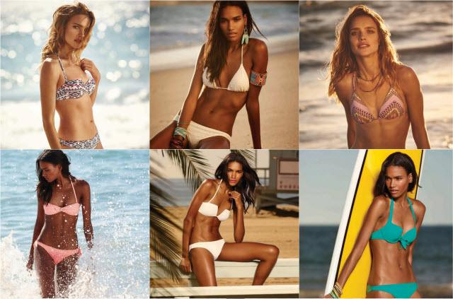Etam - kolekcja kostiumów kąpielowych 2015
