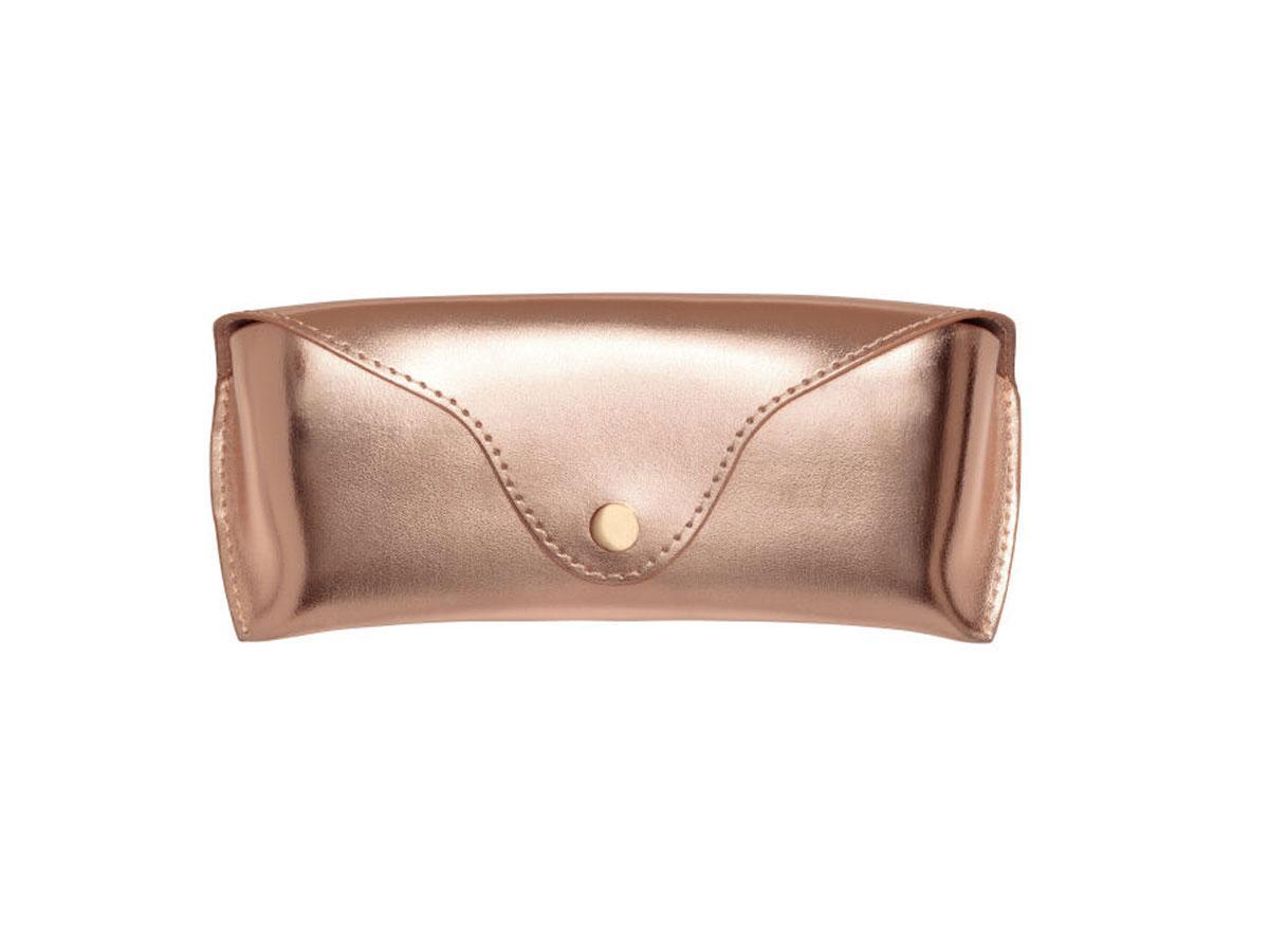 Etui na okulary w kolorze różowego złota H&M