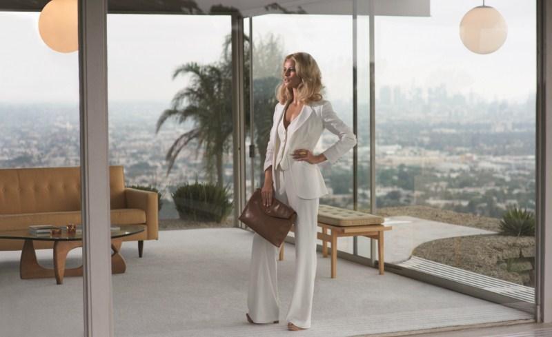 białe spodnie F&F - wiosna/lato 2011