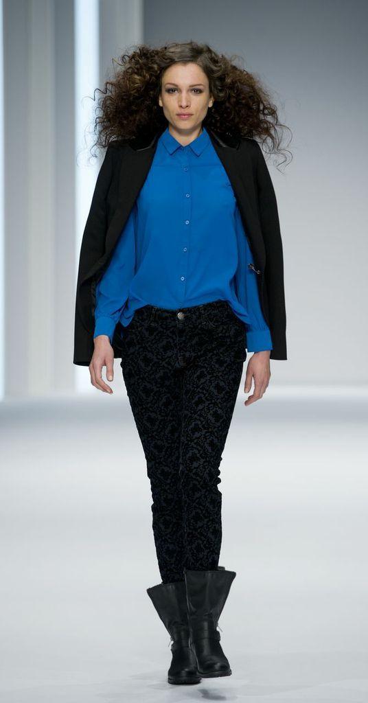 niebieska koszula F&F - kolekcja jesienno-zimowa 2013