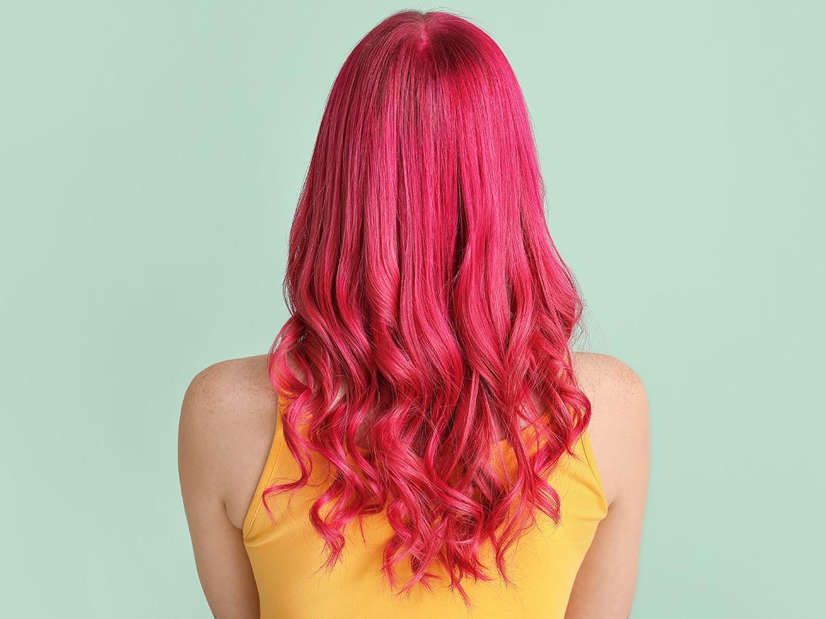 farbowanie włosów bibułą krok po kroku