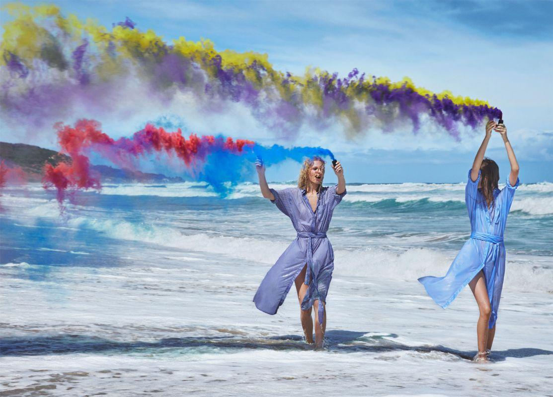 Feeria kolorów i romantyzm w nowej kampanii Zary