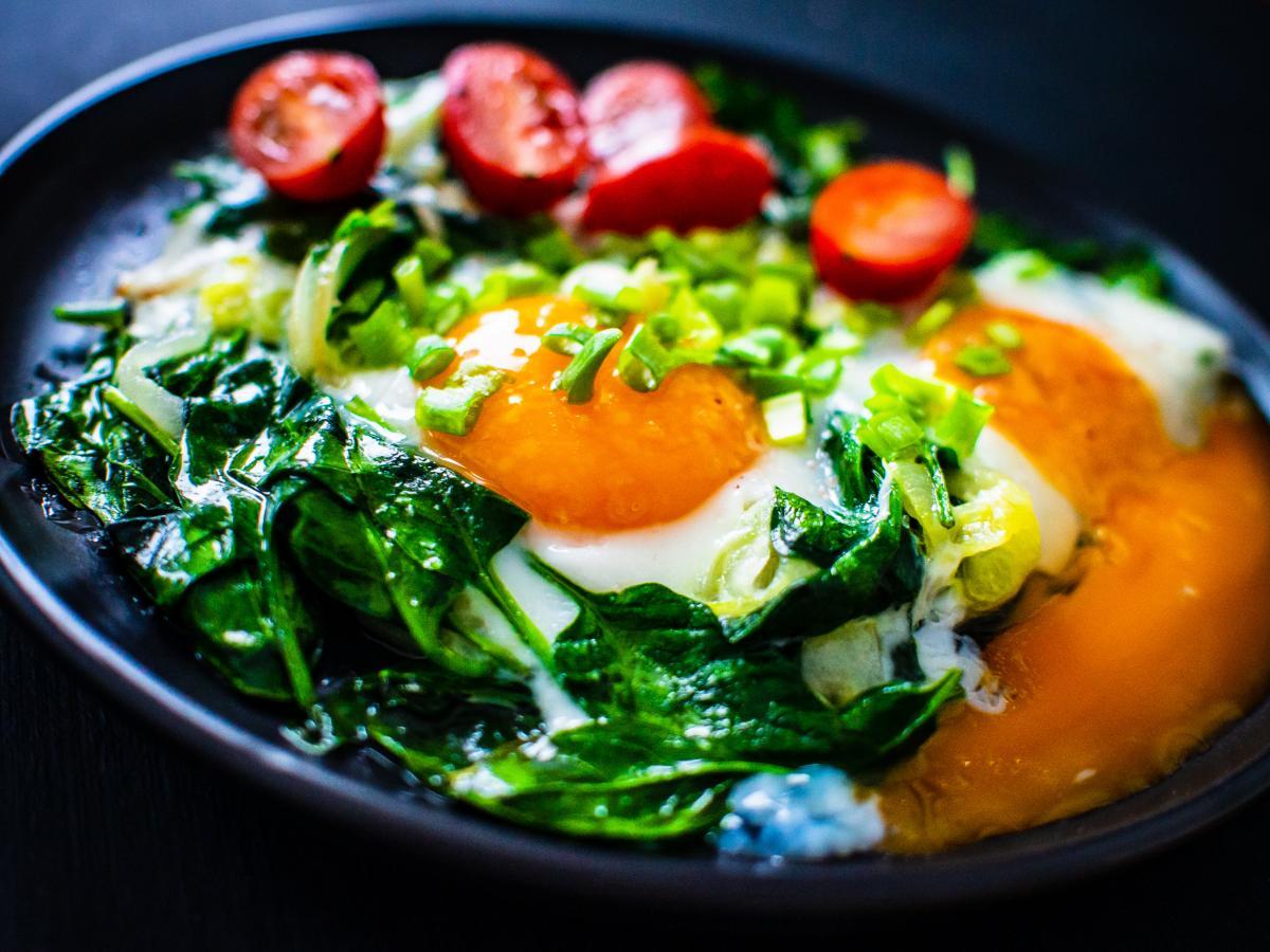 fit śniadanie z jajkiem