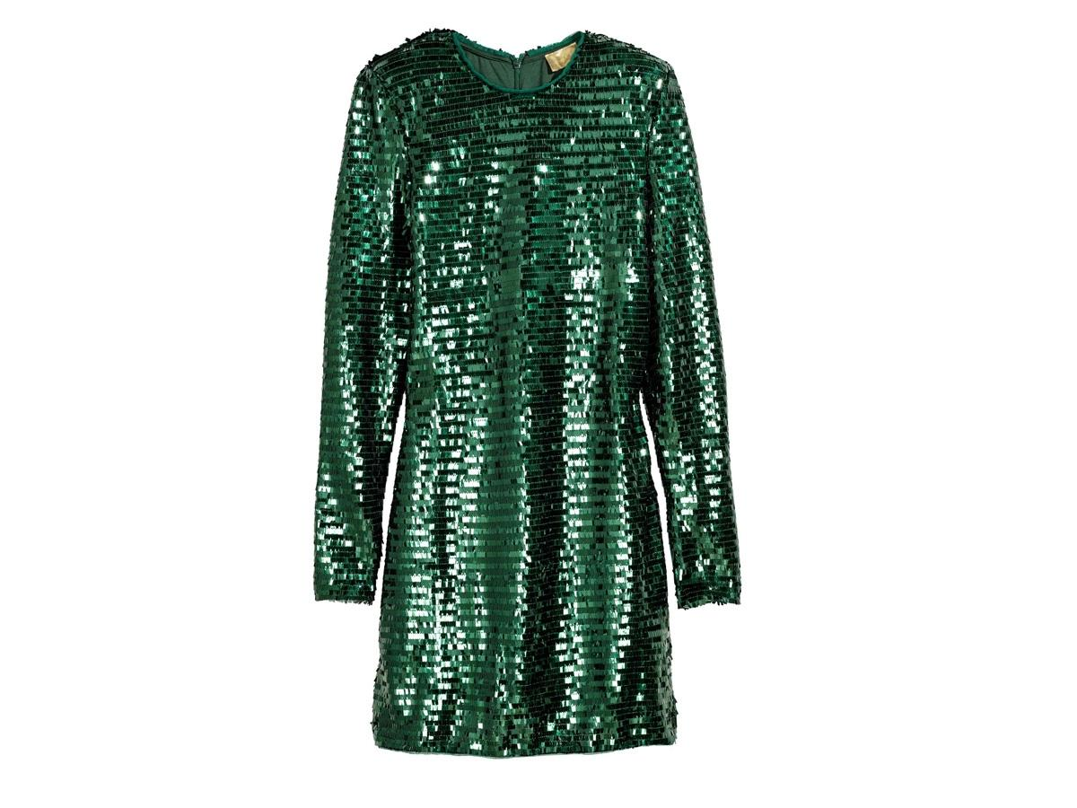 9cdfbf8eb5 Cekinowa sukienka H amp ...