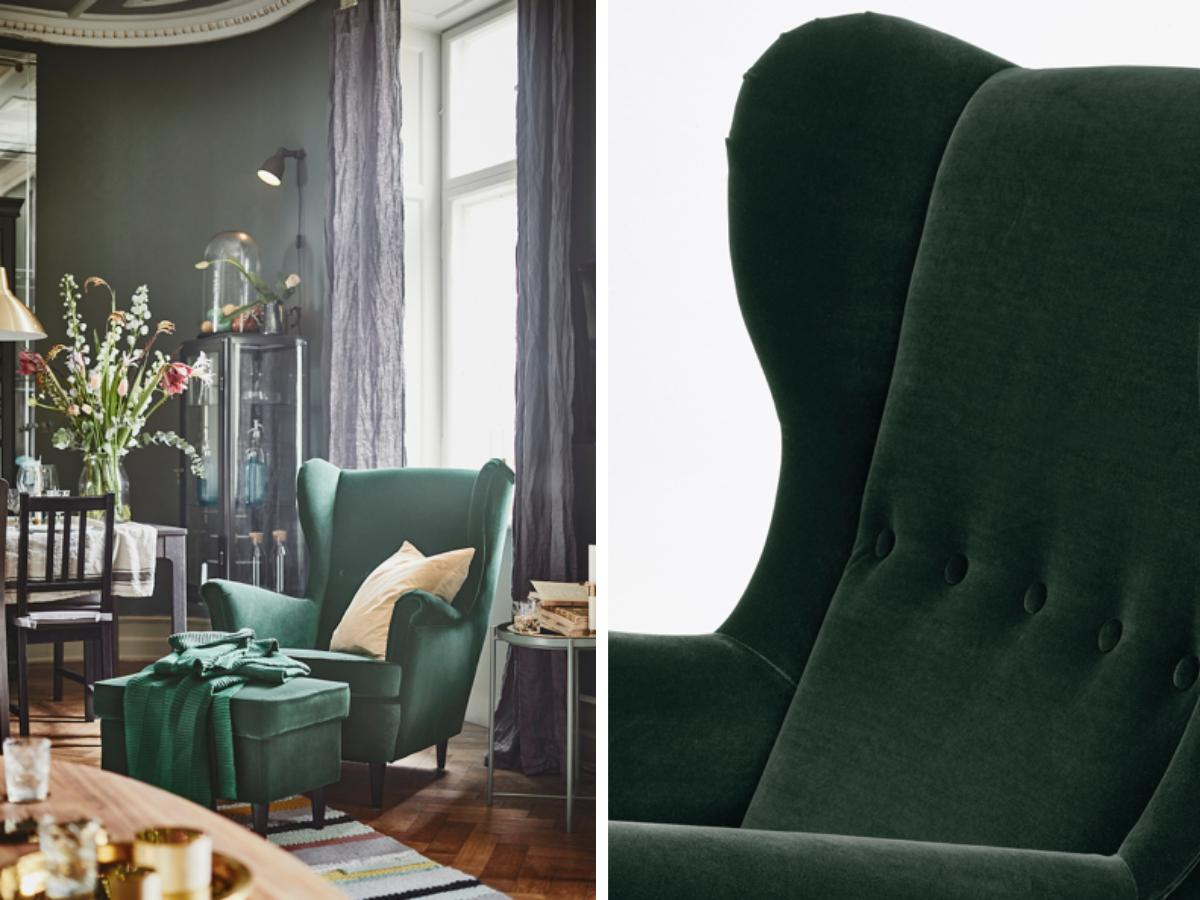IKEA STRANDMON fotel