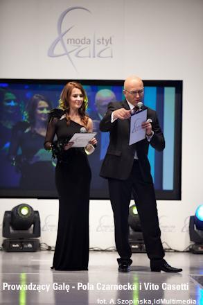 Pola Czarnecka, Vito Casetti - XIII Gala Moda&Styl