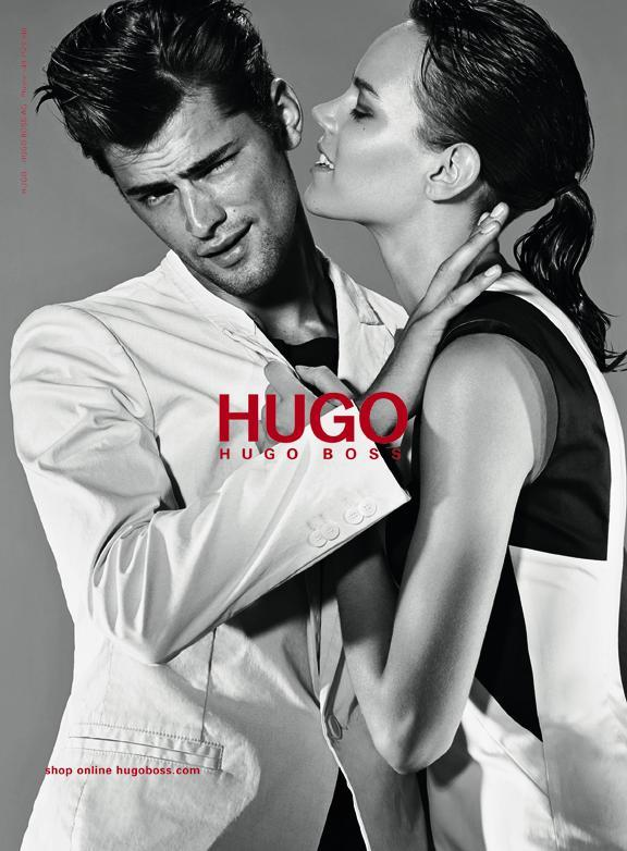 Hugo Boss wiosna/lato 2012 - Freja Beha Erichsen