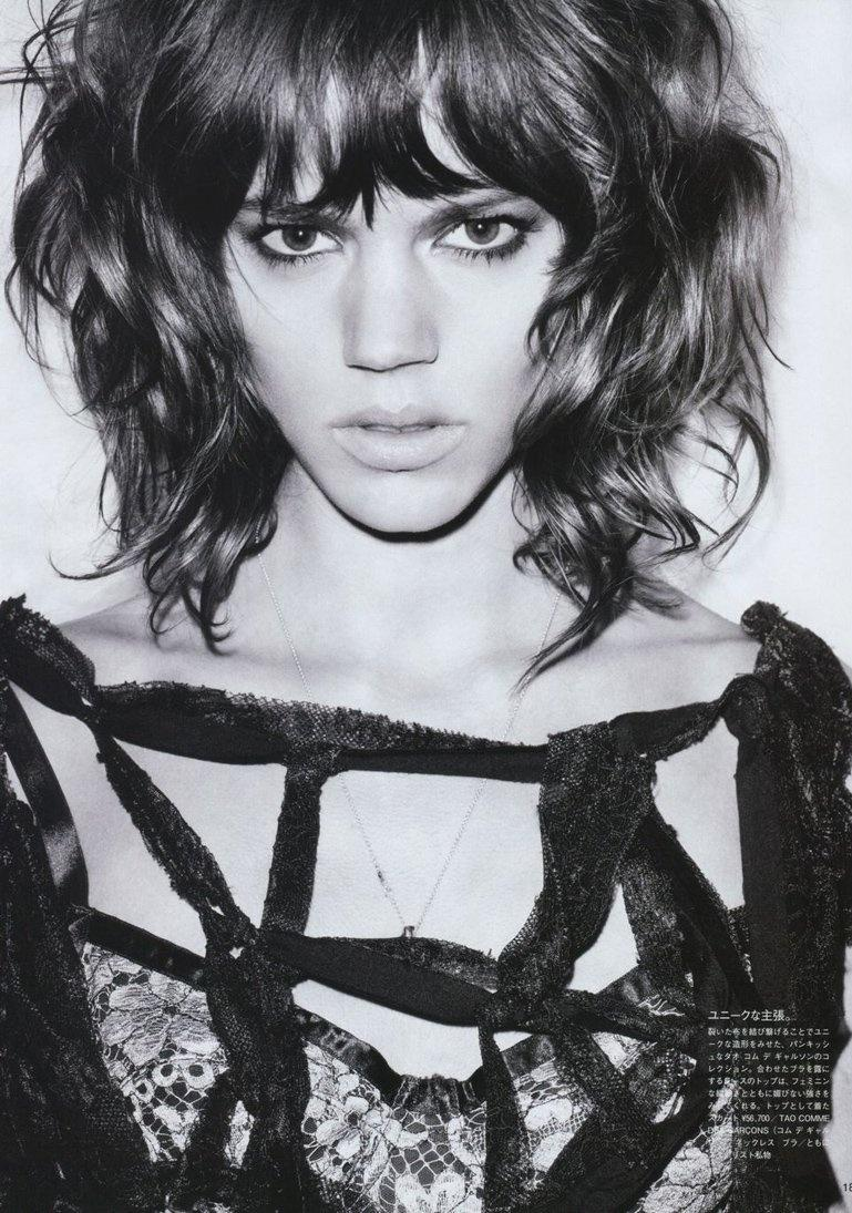 Vogue Japan marzec 2010 - Freja Beha Erichsen