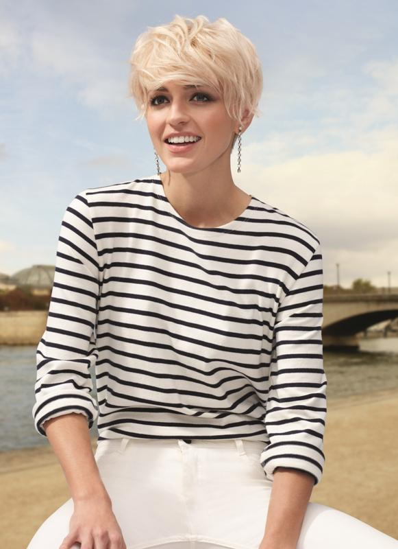 Krótkie Włosy W Stylu Lat 80 Fryzury Blond W Nowej Wersji