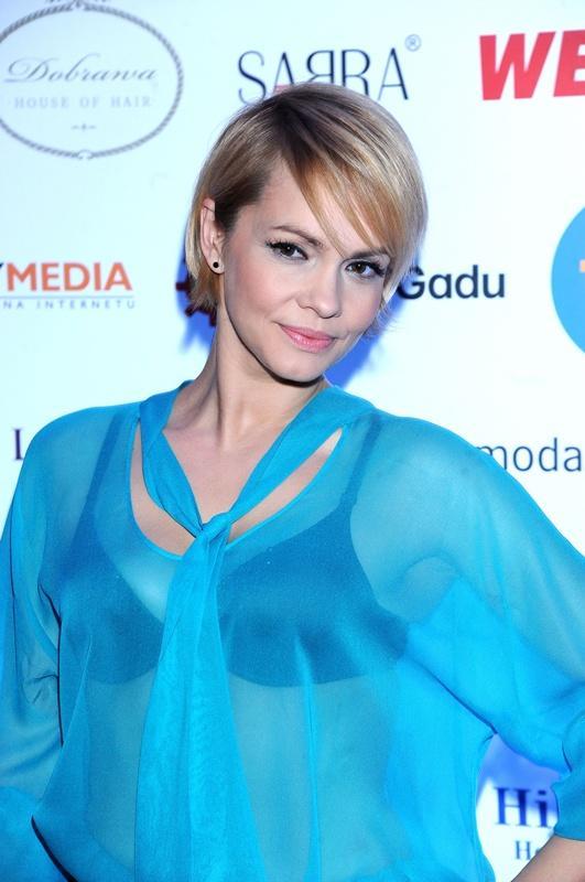 Weronika Marczuk - krótka fryzura