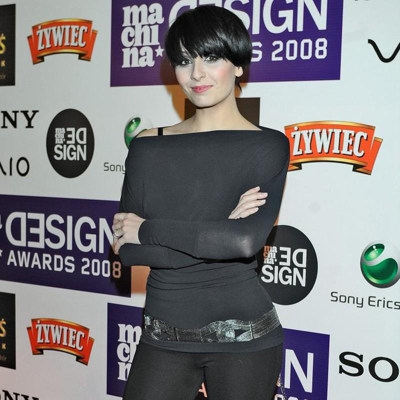 Tatiana Okupnik z krótkimi włosami
