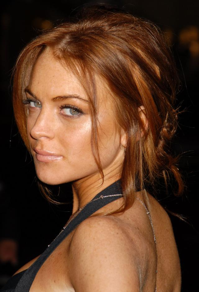 Fryzury Lindsay Lohan