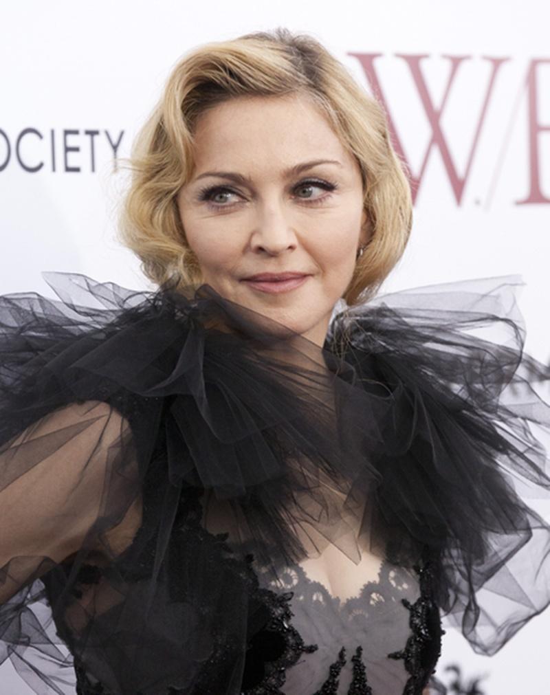 Madonna Fryzura Retro Fryzury ślubne Inspirowane Stylem Gwiazd