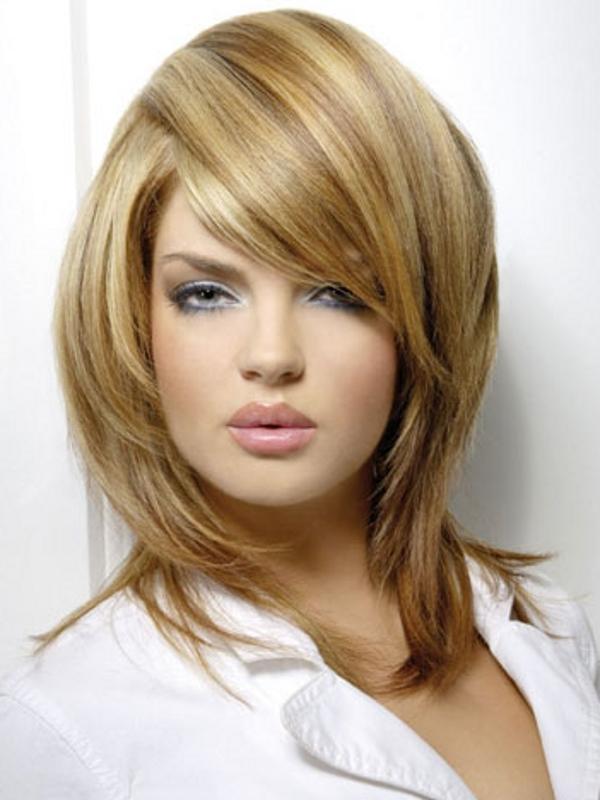 Fryzury typu lob