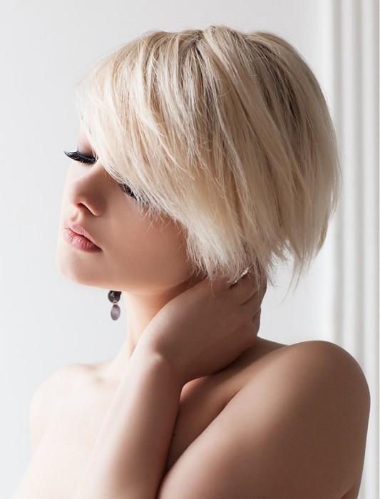 Fryzury typu paź