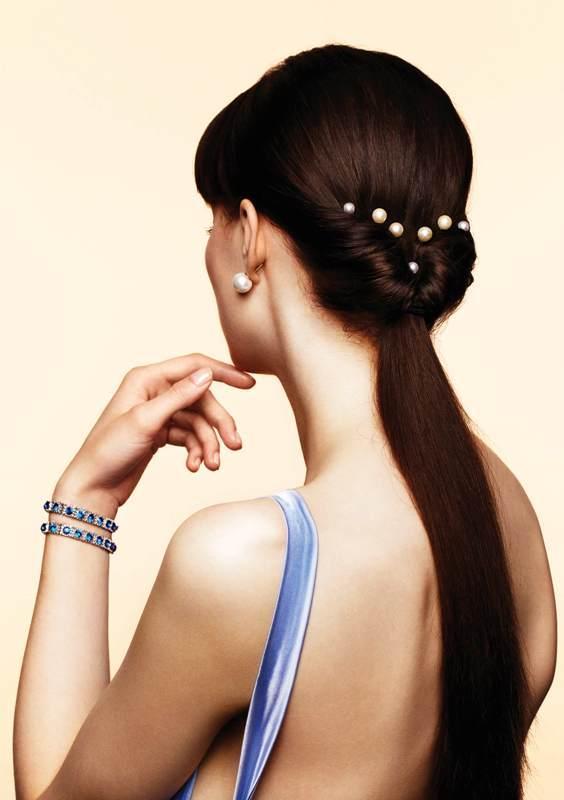 Fryzury - stylizacje Glitter, koński ogon