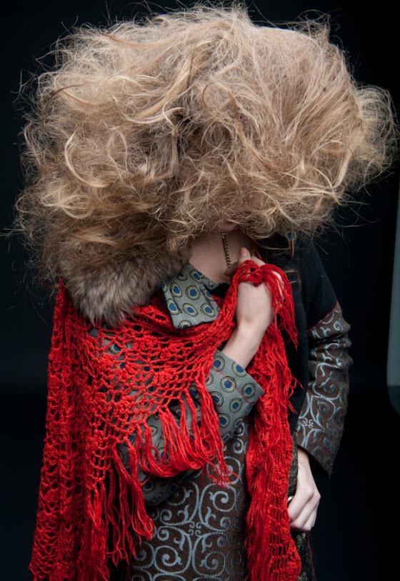 Fryzury w stylu carskiej Rosji