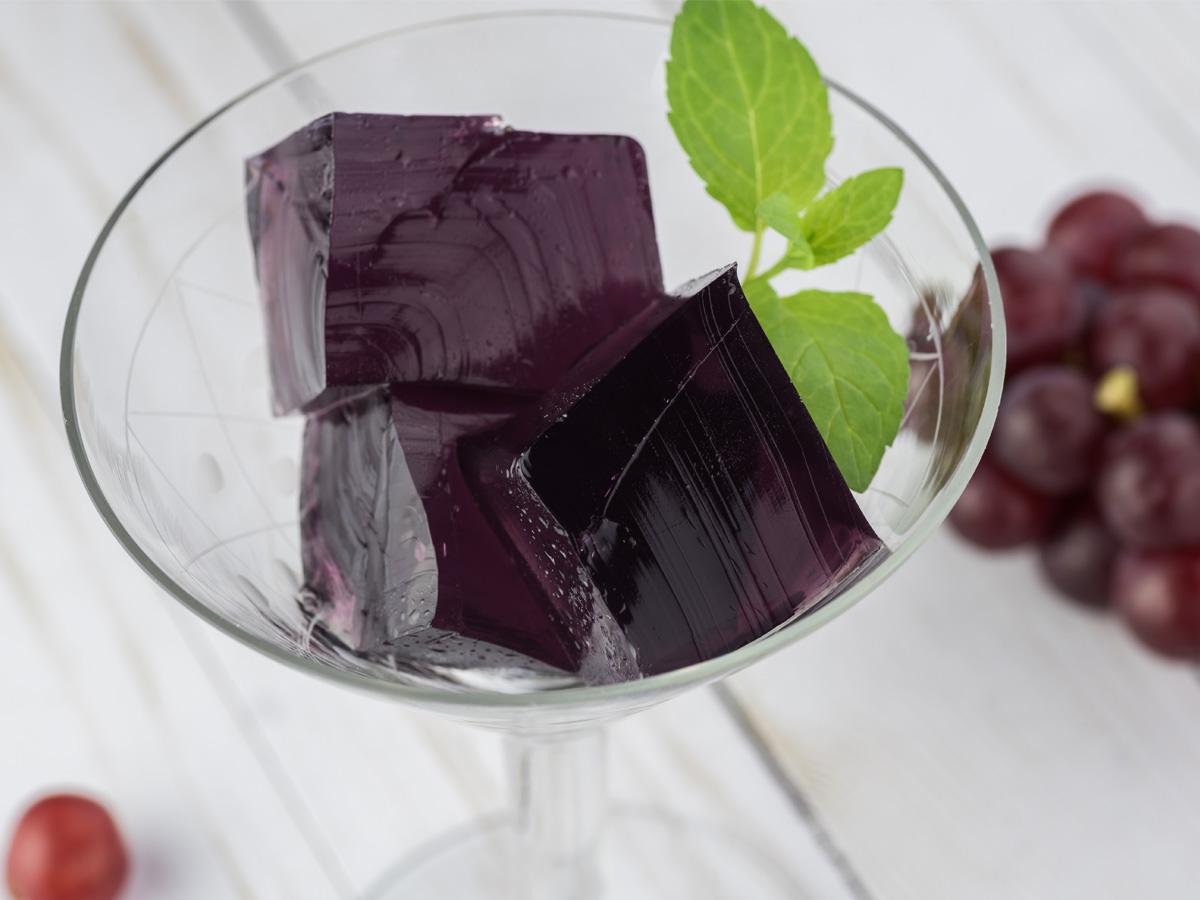 galaretka z winogron