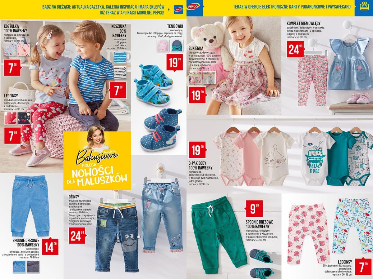Gazetka z Lidla - ubranka dla dzieci
