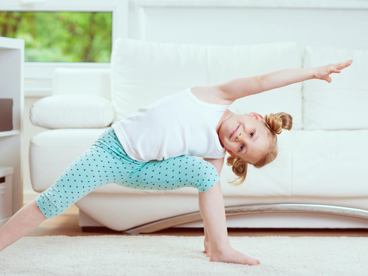 Gimnastyka dla przedszkolaka
