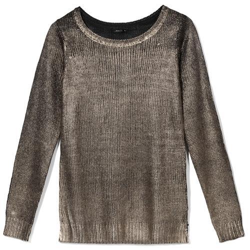 Metaliczny sweterek, Mohito