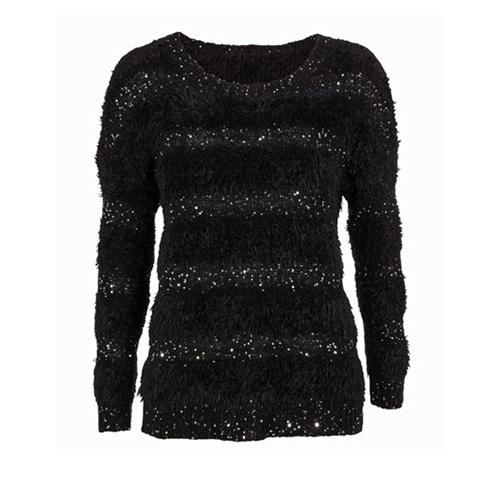 Sweterek zdobiony, F&F