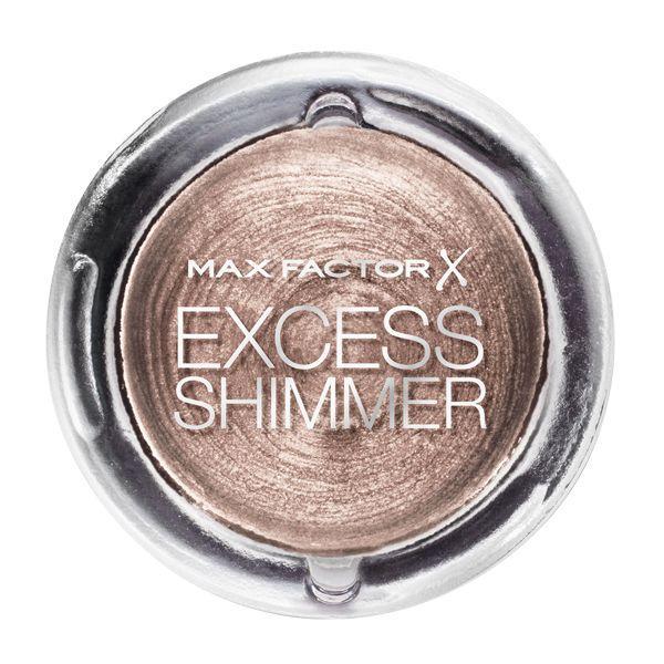 Excess Shimmer Eyeshadow, Light Copper, 44,99 zł