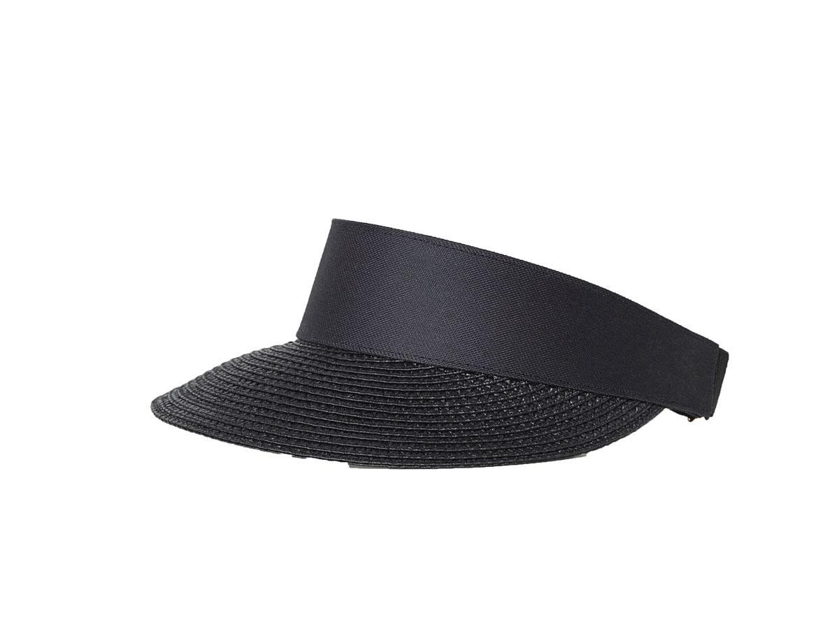Czarny daszek przeciwsłoneczny H&M
