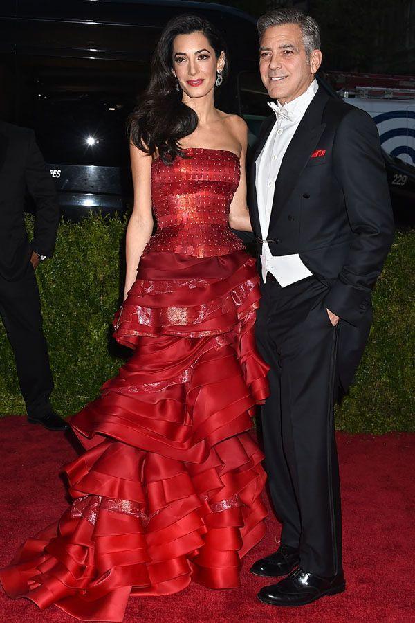 Met Gala 2015: Amal Clooney i George Clooney