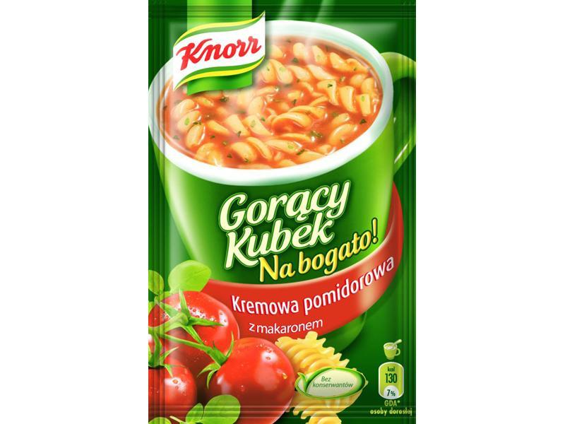 Gorący Kubek Na Bogato! Kremowa pomidorowa