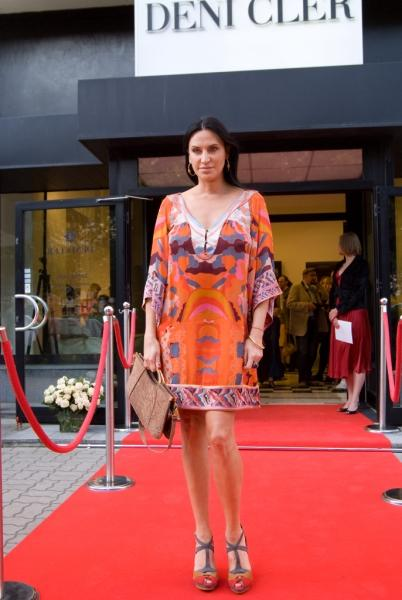Goście i kulisy pokazu Deni Cler - czerwiec 2009 - Zdjęcie 1