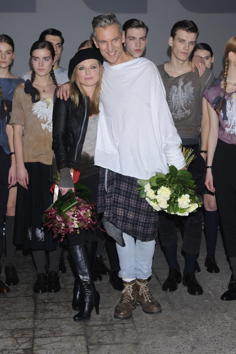 Robert Kupisz, Anna Maria Jopek - Pokaz Roberta Kupisza jesień/zima 2012