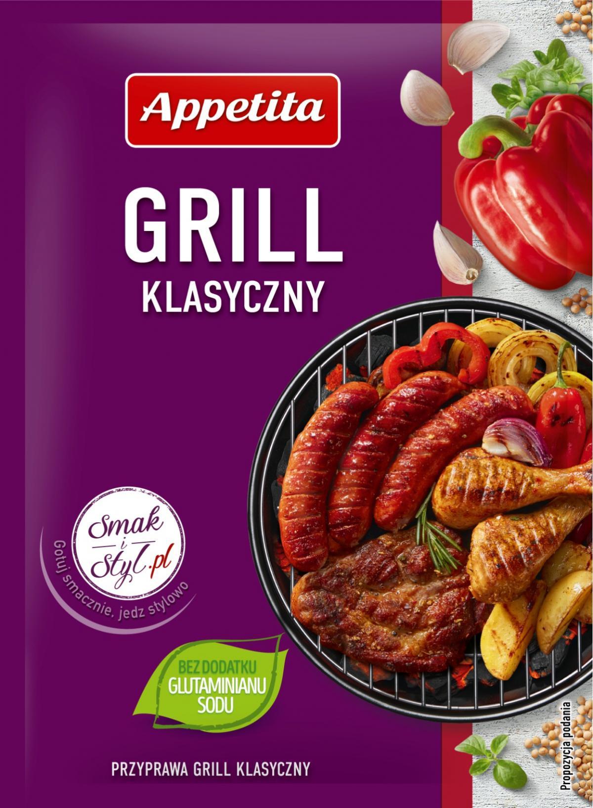 grill klasyczny appetita