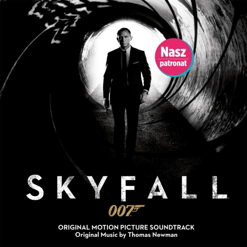 """Płyta z muzyką z filmu """"Skyfall"""""""