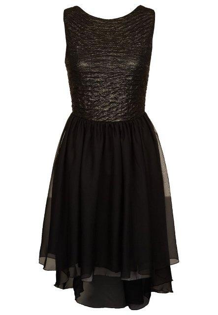 Grzeczne, czarne sukienki na studniówkę