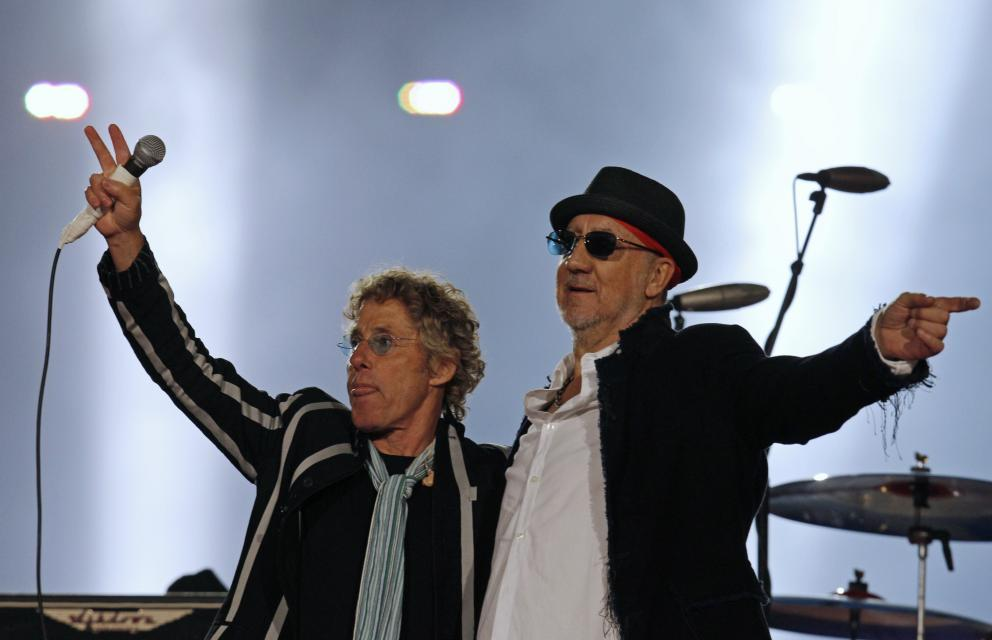 Roger Daltrey i Pete Townshend z The Who