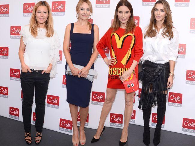 Gwiazdy na konferencji Polsat Cafe