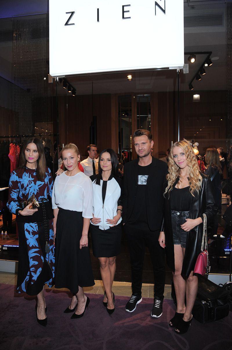 Joanna Horodyńska, Katarzyna Warnke, Paulina Sykut, Maciej Zień, Jessica Mercedes
