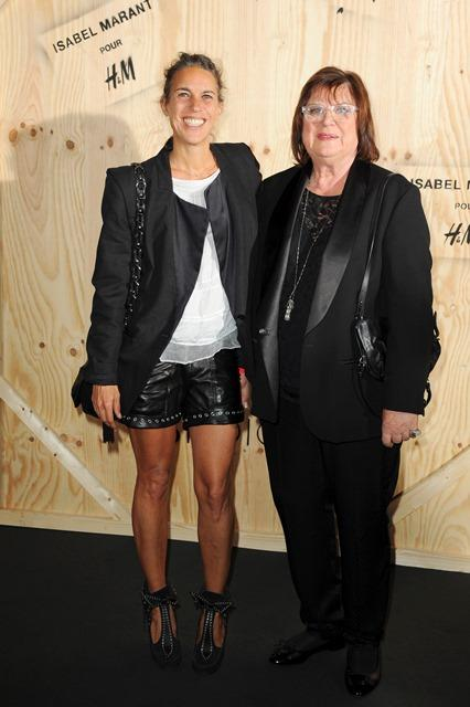 Gwiazdy na paryskiej premierze kolekcji Isabel Marant dla H&M